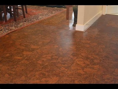 cork flooring cork flooring lowes youtube