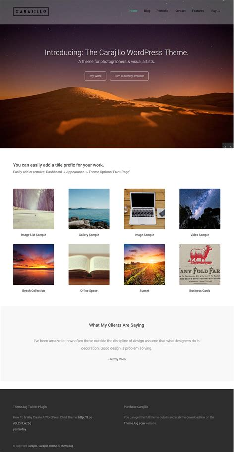 unique wordpress themes free download carajillo a premium creative wordpress theme free download