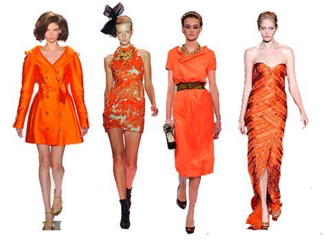 Fashion Orange times of fashion go orange