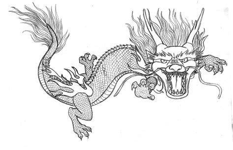 coloring page chinese dragon free coloring pages of chinese dragons