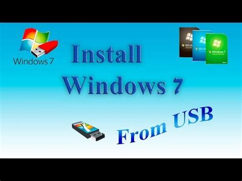 tutorial install windows 7 from usb full download how to install windows via flash drive
