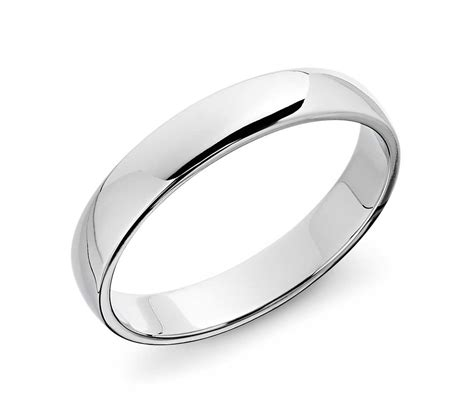Wedding Rings Platinum by Classic Wedding Ring In Platinum 4mm Blue Nile