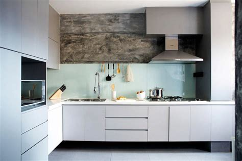 sleek minimal kitchen cabinets no hardware included designing a sleek modern kitchen home decor singapore
