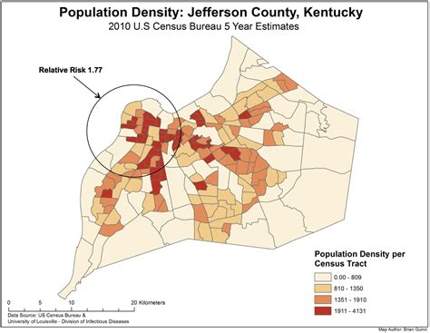 kentucky demographic map happi study of louisville