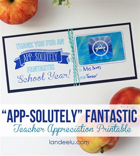 Will Itunes Gift Card Work For App Store - teacher appreciation gift ideas app solutely fantastic