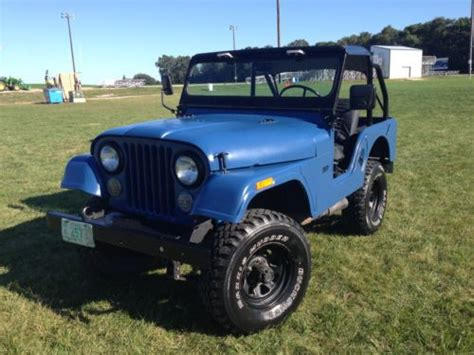 1970 Cj5 Jeep Purchase Used 1970 Jeep Cj5 Kaiser Willys V6 Amc In