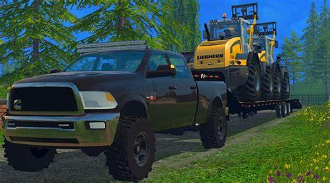dodge cummins farming simulator  mods farming