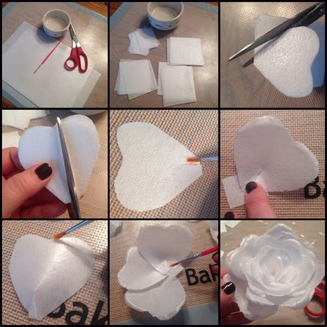 How To Make Wafer Paper Flowers - gum paste flowers melod 237 a