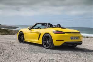 Boxster Porsche Porsche 718 Boxster 2016 2017 Autoevolution
