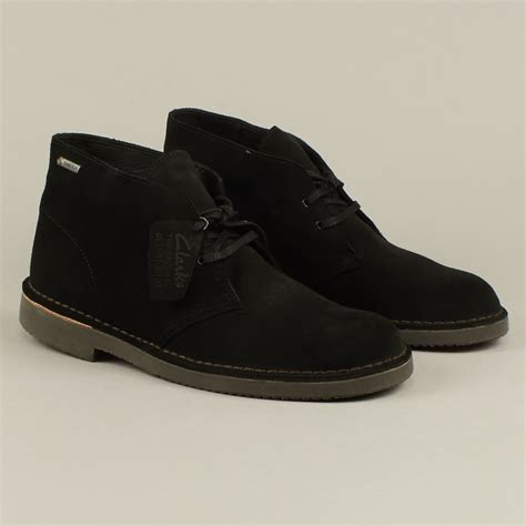 clarks desert boot clarks desert boot gtx black suede free delivery