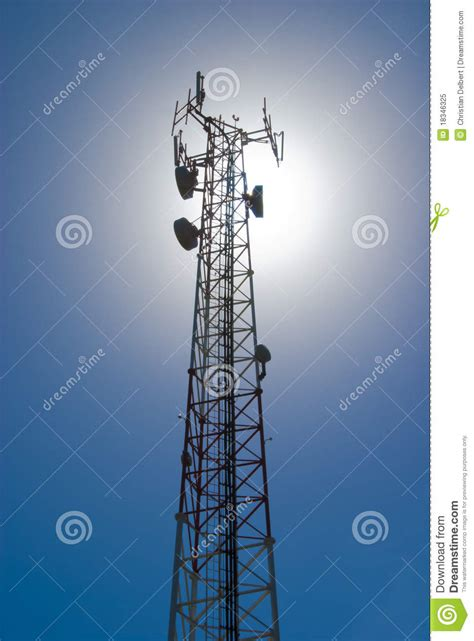 cell tower royalty  stock photo image