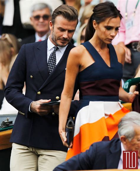 Ralph Exploits Beckham Children by David And Beckham At Wimbledon Tom Lorenzo