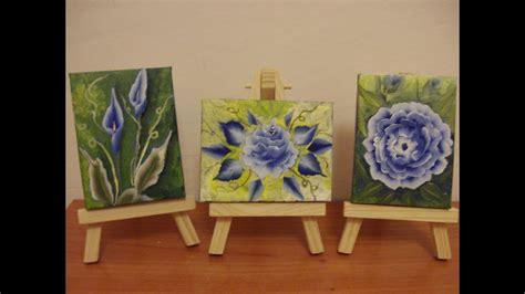 come dipingere i fiori come dipingere fiori in modo facile peonia rosa calla