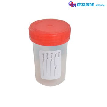Urine Container Non Steril 60 Ml Pot Urine Wadah Sle Urine jual urine container non steril
