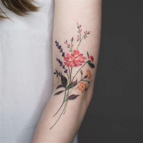 wildflower tattoo designs 20 wonderful wildflower ideas