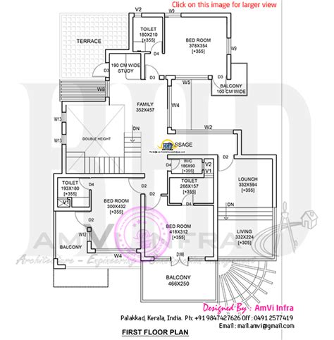 image detail for modern house plan 2800 sq ft kerala home design architecture home modern 4 bhk house plan in 2800 sq feet home kerala plans