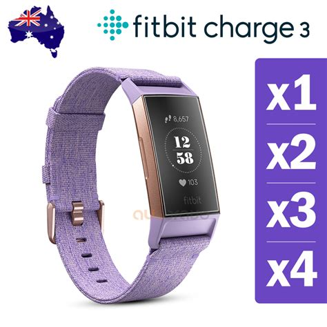 Fitbit Charge 3 Iphone Xr by For Fitbit Charge 3 Compact Tpu Hardness Anti Fingerprint Screen Protector Ebay