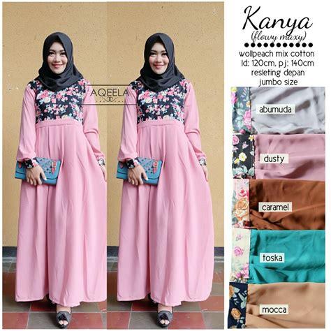 Loly Jumbo Dress Maxi Gamis Muslim baju muslim wanita maxi dress gamis wolfis polos besar big
