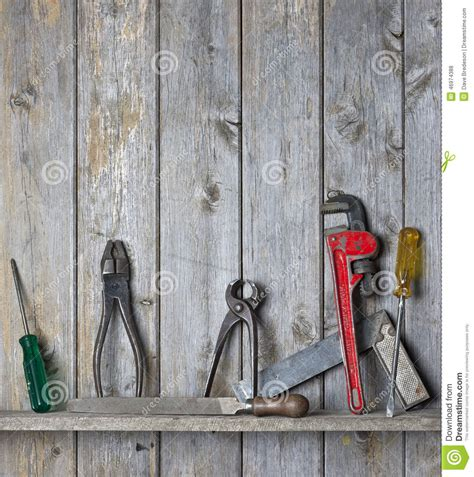 rustic woodworking tools wood tools background stock photo image 46974388