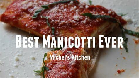 best manicotti best manicotti secret family recipe show 16