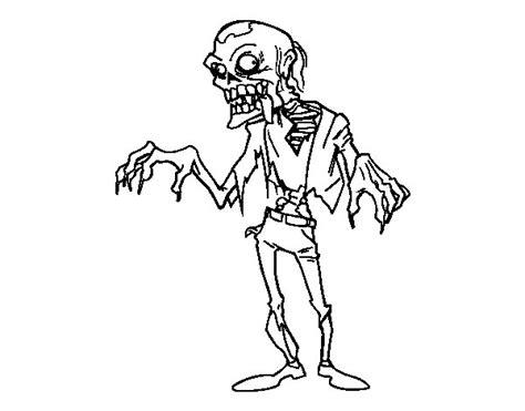 imagenes de zombies para halloween para niños dibujo de un zombie para colorear dibujos net
