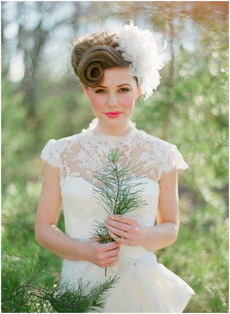 Vintage Bridal Hair 2013 by Vintage Bridal Hairstyles With A Modern Twist Want That