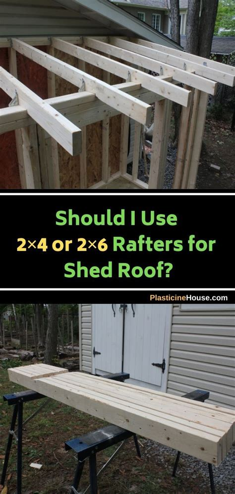 rafters  shed roof
