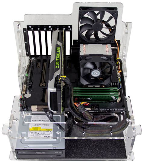 test bench pc for those who like their pcs naked puget test bench eatx