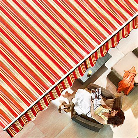 sunfun markise sunfun gelenkarmmarkise rot gelb breite 3 m ausfall 2
