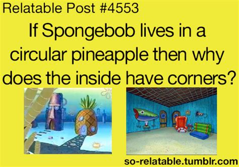 l post with blowing childhood spongebob pineapple mind blowing so relatable