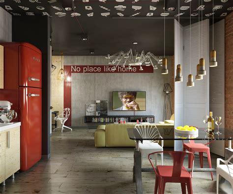 Il Colore In Casa by Il Rosso In Casa Un Loft Dalla Forte Identit 224 Casa It