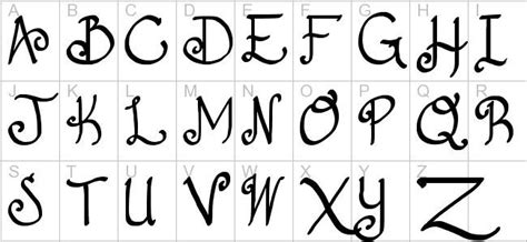 download imageswrite alphabets in a cool way copy and paste cursive letters sle letter template