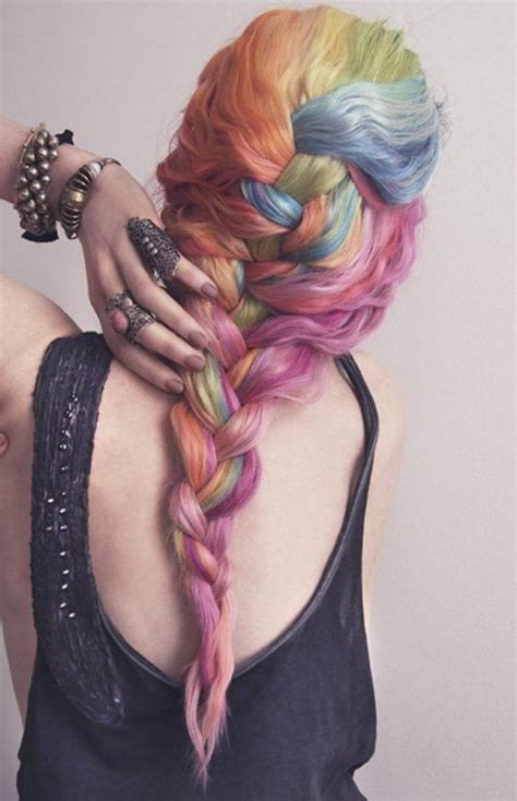 best shoo for colored hair 2014 2014 hot ombre highlights trend 30 rainbow colored
