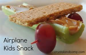 letter of the week snack a is for airplane