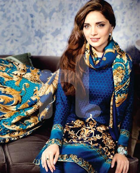 Model Pashmina 2016 armeena rana khan nishat winter collection 5 brandsynario