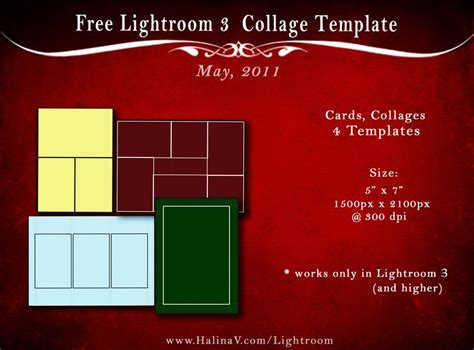 business card template lightroom free lightroom templates photo cards galina v