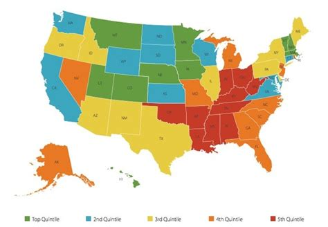happiest states top 10 happiest states in the u s impact lab