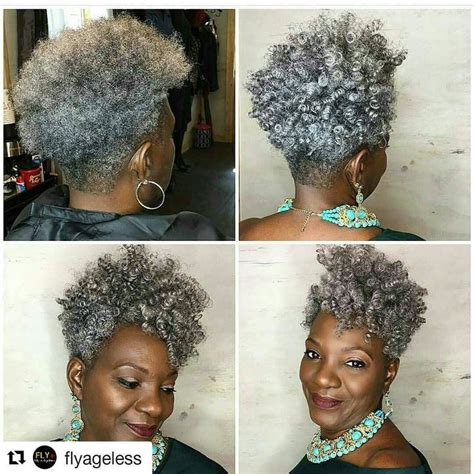 natural hairstyles for black women over 70 1000 images about gray hair is pretty to me now on