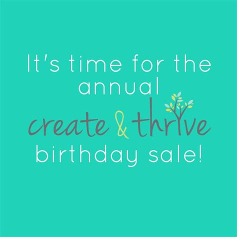 annual birthday sale  ct guides  price