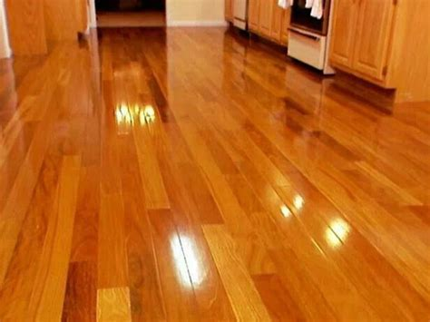 To clean & shine hardwood floors.   Environmentally