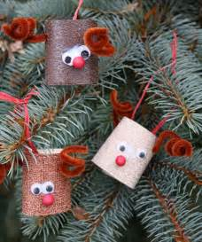 Making Christmas Crafts - christmas crafts for kids 15 toilet paper roll ideas