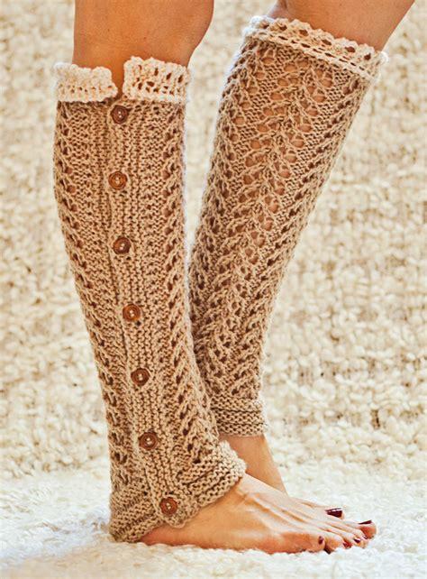 knitting leg warmers legwarmer knitting patterns in the loop knitting