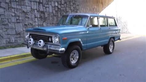 jeep wagoneer for sale 1975 jeep wagoneer for sale youtube
