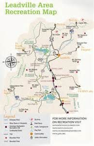 map of leadville colorado leadville recreation map go to guide