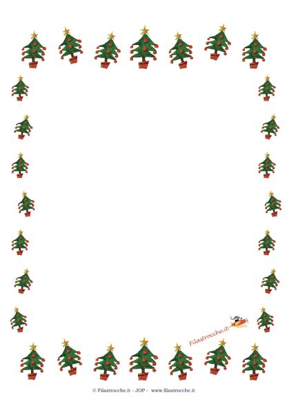 immagini cornici natalizie idea regalo per natale cornice vuota con gli alberi di