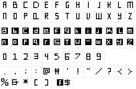 simply square font 1001 free fonts digit square font 1001 free fonts