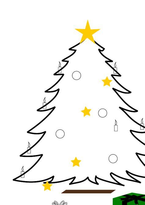 christmas tree cartoon clip art clipart best