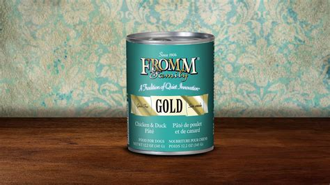 fromm canned food fromm gold canned food all is well pet products