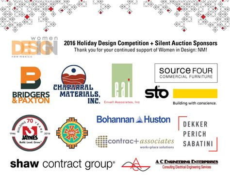 design competition through multidimensional auctions 2016 holiday design competition auction sponsors wid nm