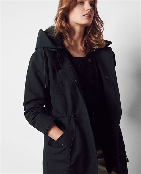 parka with removable navy casquette comptoir